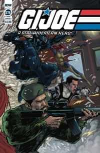 Gi Joe #276 A Real American Hero CVR A Diaz
