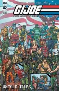 Gi Joe #276 A Real American Hero CVR B Shearer