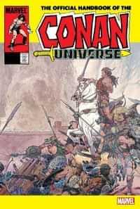 Conan Official Handbook Of Conan Universe Anniversary Edition