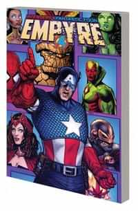 Empyre TP Captain America And Avengers