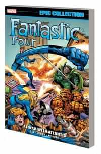 Fantastic Four TP Epic Collection At War With Atlantis