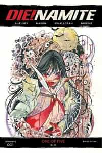 Die!namite #1 Variant 10 Copy Momoko Vampirella Zombie