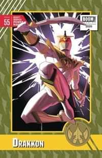 Mighty Morphin Power Rangers #55 Variant 10 Copy Anka