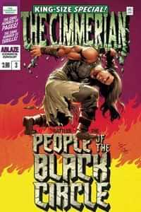 Cimmerian People Of Black Circle #3 CVR D Casas Hulk Homage