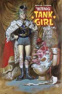 King Tank Girl #1 CVR B Cardstock Powell