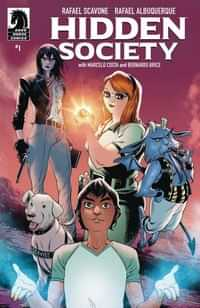 Hidden Society #1 CVR A Albuquerque