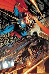 Batman Superman #7 CVR B Card Stock Kubert