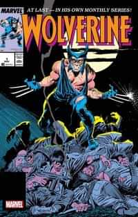 Wolverine #1 Claremont and Buscema Facsimile Edition