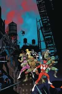 Power Rangers Teenage Mutant Ninja Turtles #3 CVR A Mora