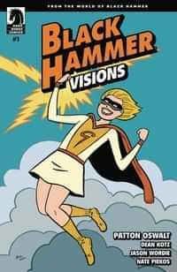 Black Hammer Visions #1 CVR C Hernandez Stewart
