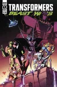 Transformers Beast Wars #1 CVR A Josh Burcham