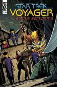 Star Trek Voyager Sevens Reckoning #4 CVR A Hernande