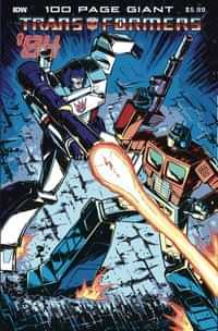 Transformers 84 Legends and Rumors 100-page Giant