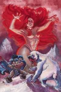 Cimmerian Frost Giants Daughter #3 CVR C Alburquerque