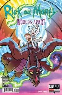 Rick And Morty Worlds Apart #1 CVR A Fleecs