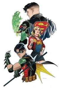Young Justice #4 CVR B
