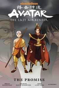 Avatar Last Airbender GN the Promise Omnibus Edition