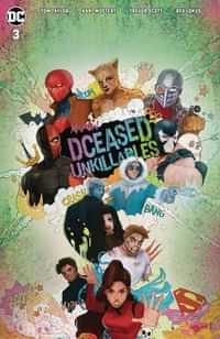 Dceased Unkillables #3 CVR C Card Stock Horror Tasia Ms