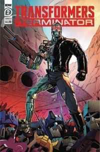 Transformers Vs Terminator #2 CVR B Coller