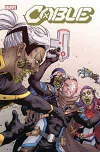 Cable #2 Variant Yardin Marvel Zombies