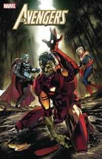 Avengers #33 Variant Benjamin Marvel Zombies