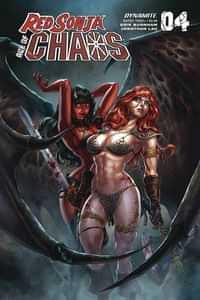 Red Sonja Age Of Chaos #4 CVR B Quah