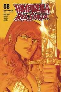 Vampirella Red Sonja #8 CVR C Romero