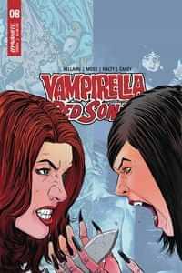 Vampirella Red Sonja #8 CVR E Moss