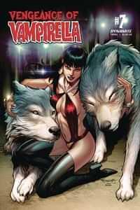 Vengeance of Vampirella #7 CVR C Segovia