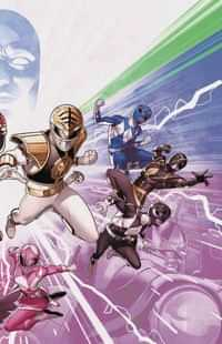 Mighty Morphin Power Rangers #50 CVR B Connecting