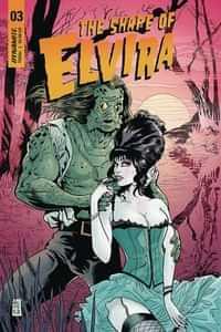 Elvira Shape of Elvira #3 CVR C Acosta