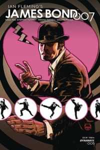 James Bond 007 #5 CVR A Johnson