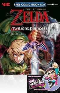 FCBD 2020 Legend Zelda Twilight Princess Splatoon Squid Kids