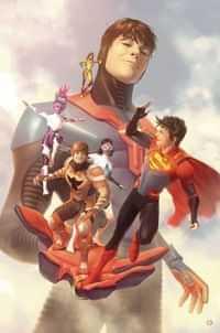 Legion of Super Heroes #5 CVR B Card Stock Garner