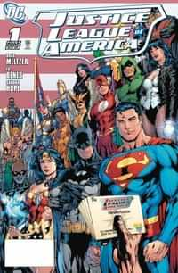 DC Dollar Comics Justice League Of America #1 2006