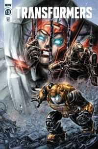 Transformers #19 Variant 10 Copy Williams II
