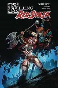 Killing Red Sonja #1 CVR B Gedeon Zombie