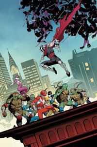 Power Rangers Teenage Mutant Ninja Turtles #4 CVR A Mora