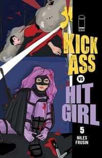 Kick-ass Vs Hit-girl #5 CVR C Brooks Millar
