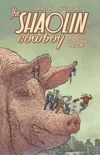 Shaolin Cowboy TP Wholl Stop The Reign