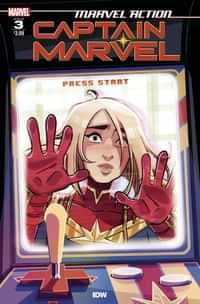 Marvel Action Captain Marvel 2021 #3