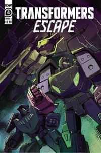 Transformers Escape #4 CVR A Mcguire-smith