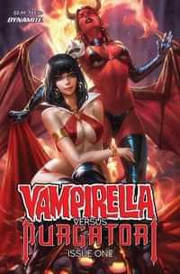 Vampirella Vs Purgatori #1 CVR A Chew