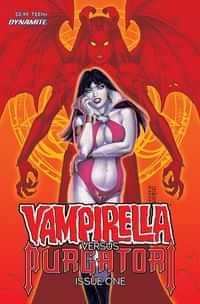 Vampirella Vs Purgatori #1 CVR C Linsner