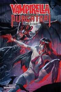 Vampirella Vs Purgatori #1 CVR D Kudranski