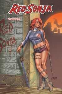 Red Sonja #25 CVR B Linsner