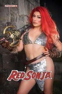Red Sonja #25 CVR E Hollon Cosplay