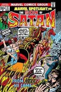 Son of Satan Marvel Spotlight #12 Facsimile Edition