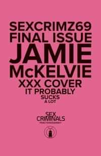 Sex Criminals #69 CVR B XXX Mckelvie
