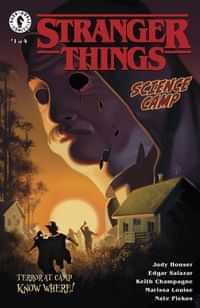 Stranger Things Science Camp #1 CVR A Kalvachev